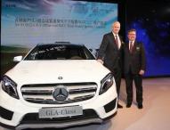 Meilenstein in China: Produktionsbeginn von Mercedes-Benz Kompaktwagen in Peking