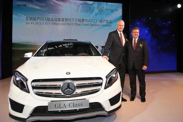 Bild von Meilenstein in China: Produktionsbeginn von Mercedes-Benz Kompaktwagen in Peking