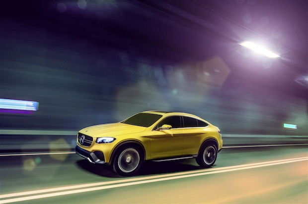 Photo of Mercedes-Benz Concept GLC Coupé