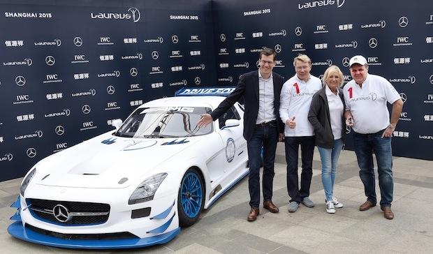 Bild von Mercedes-Benz und Laureus erweitern ihr weltweites Engagement