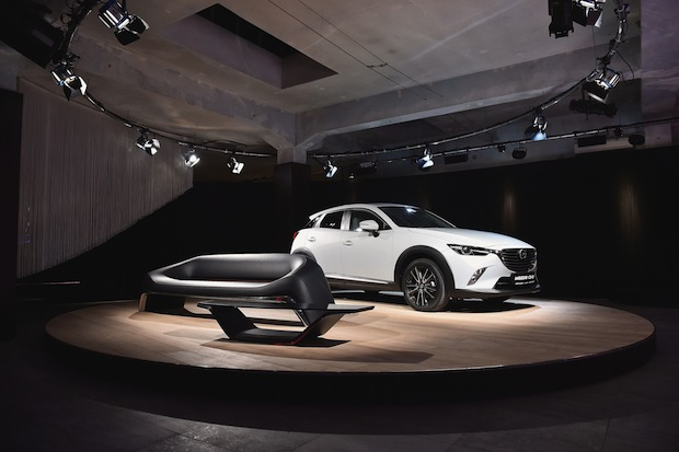 Bild von Mazda Designsprache KODO glänzt bei der Milan Design Week