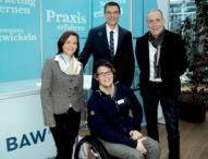 Paralympics-Anwärter Felix Brunner wird BAW Botschafter