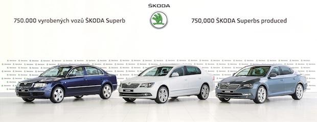 Photo of SKODA produziert 750.000sten SKODA Superb