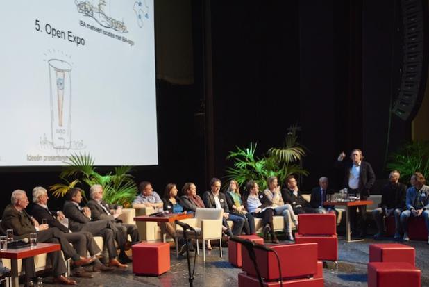 Bildunterschrift: Kurator-Direktor Jo Coenen freut sich über die überwältigende Beteiligung und die Menge inspirierender Einsendungen für die Belebung der Region. Foto:IBA Parkstad