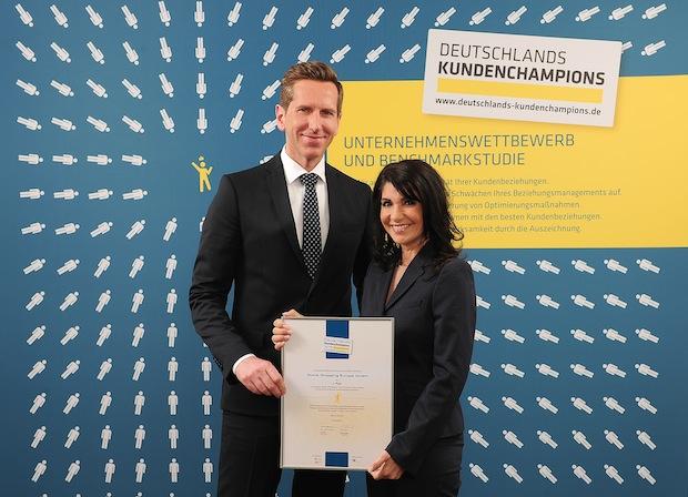 """Photo of HSE24 bei """"Deutschlands Kundenchampions 2015″ ausgezeichnet"""
