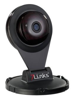 7links IP-Kamera IPC-200.VGA mit Nachtsicht und microSD-Aufnahme