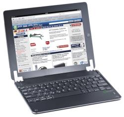 GeneralKeys Aufsteckbare Alu-Bluetooth-Tastatur für iPad Air/Air 2