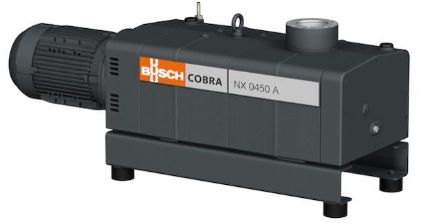 Die neue Schrauben-Vakuumpumpe von Busch: COBRA NX - Quelle: Busch Dienste GmbH