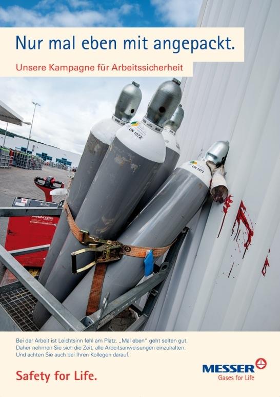 Bild von Industriegasespezialist Messer stellt seine aktuelle Unfallstatistik vor