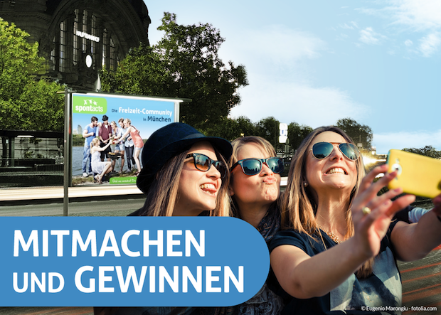 Bild von Mitmach-Community wirbt ab sofort auf über 1.400 Plakaten im Stadtgebiet München