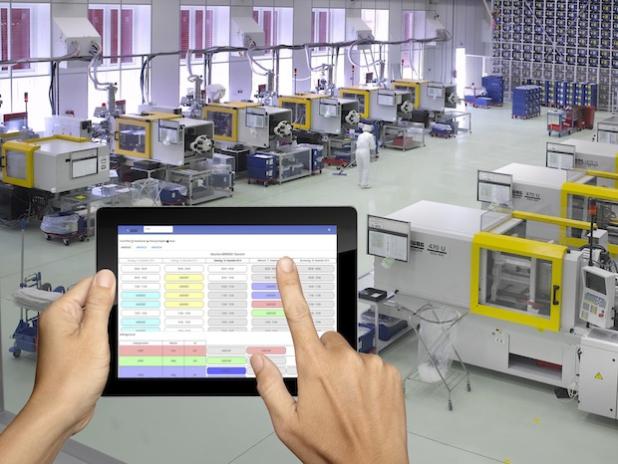 Mit der mobilen Fertigungssteuerung Touch2Plan von MPDV wird der Fertigungsalltag noch flexibler.