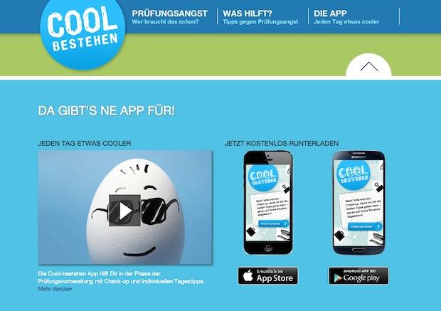 """Bild von """"CoolBestehen"""" – die erste App gegen Prüfungsangst"""