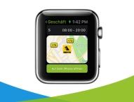 Einkaufshelfer fürs Handgelenk: Marktjagd bringt lokale Geschäfte auf die Apple Watch
