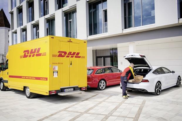 Bild von Audi liefert mit DHL und Amazon das Komfort-Paket
