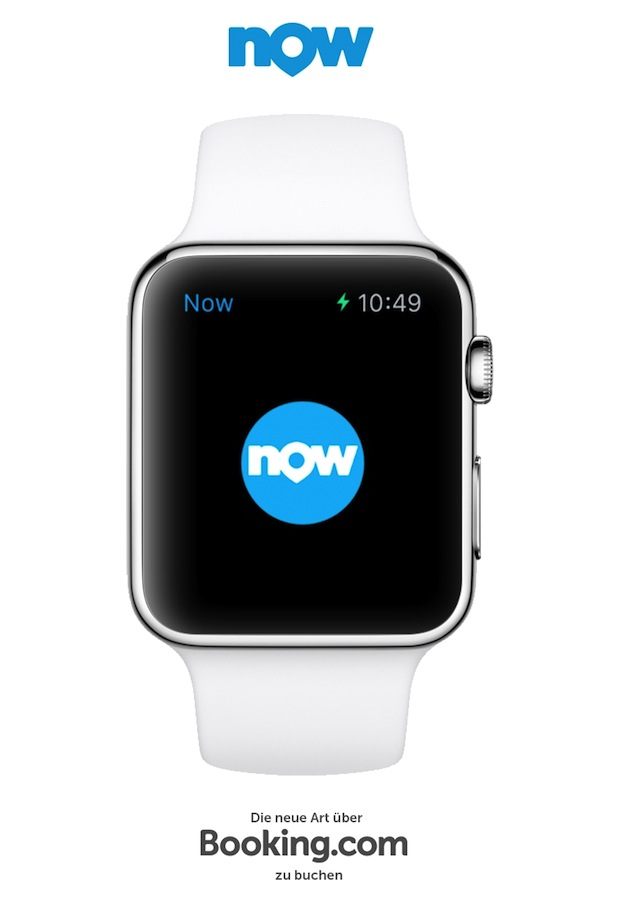 Bild von Booking Now ab sofort als erste mobile Reise-App auf der Apple Watch