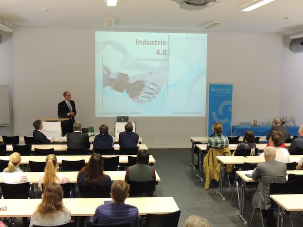 Photo of Öffentliche Antrittsvorlesung: Industrie 4.0 – Wunsch und Wirklichkeit