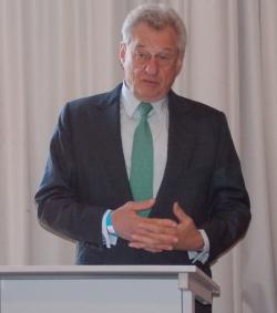 Foto: Heinrich Weiss rechnete mit der Wirtschaftspolitik der Bundesregierung ab.