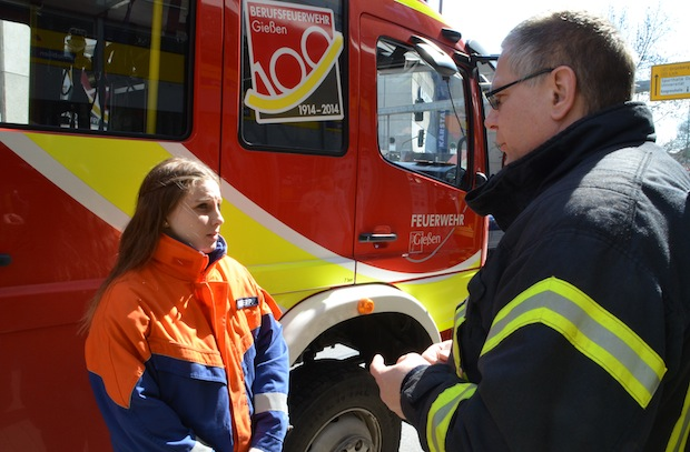 Bild von Zum Girls'Day: Paula erlebt einen Tag bei der Berufsfeuerwehr Gießen