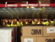 Offene Türen im Wirtschaftsbereich Logistik
