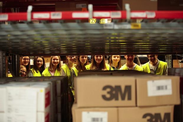 Bild von Offene Türen im Wirtschaftsbereich Logistik