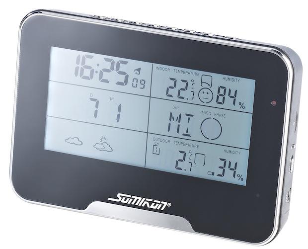 Photo of Somikon Full-HD-Überwachungskamera mit Funk-Wetterstation