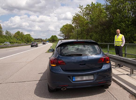 Bild von Panne auf der Autobahn: Was tun?
