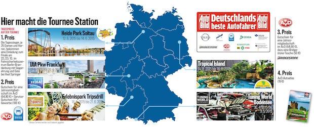 """Bild von """"Deutschlands beste Autofahrer"""" gehen in Cleebronn an den Start"""