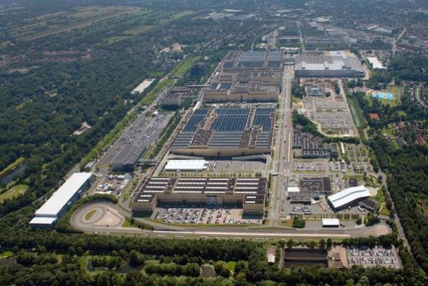 Luftbild Mercedes-Benz Werk Bremen - Quelle: Daimler AG