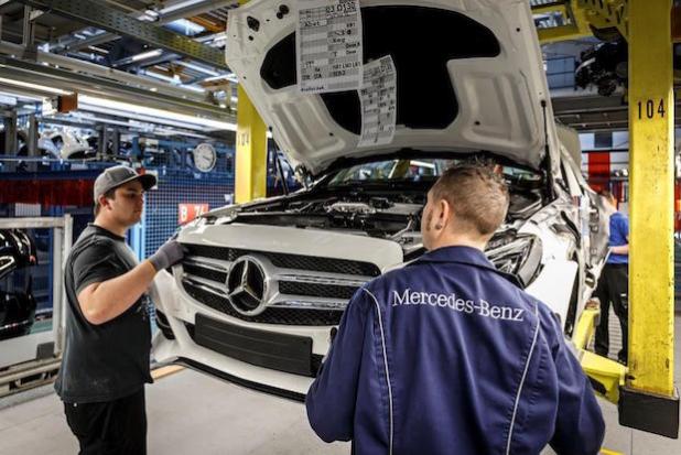 Produktion Mercedes-Benz C-Klasse - Quelle: Daimler AG