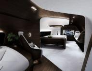 Moderner Luxus hoch über den Wolken