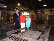 Deutschlands einzige erhaltene Eisenmühle hat nun eröffnet