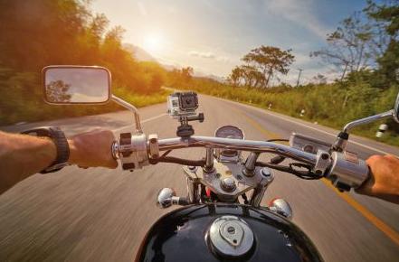 Bild von Spezielle Kameras sicher und flexibel an Fahrrad und Motorrad befestigen