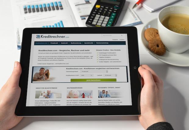 Bild von Noch schneller zum Kredit – Relaunch von Kreditrechner.com