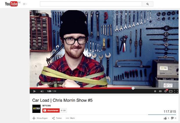Chris Morrin Show gewinnt mit PR Report Award 2015; Chris Morrin Show wins PR Report Award 2015 - Quelle: Daimler AG