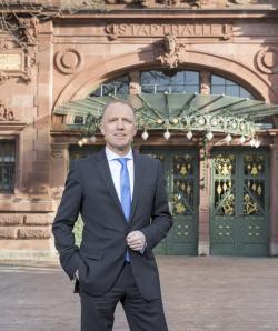 Bild: Mike de Vries, Geschäftsführer der Heidelberg Marketing GmbH, widmet sich neuen Aufgaben in der Wirtschaft. Foto: Christian Buck