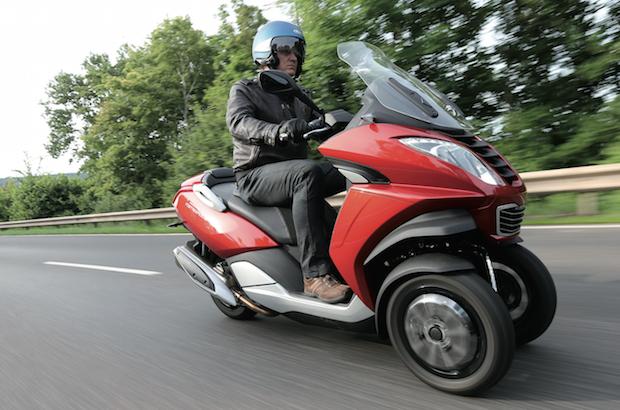 Bild von Peugeot bringt ein vielseitiges Dreirad auf die Straße