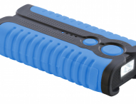 Wasserfeste Outdoor-Powerbank 5.200 mAh mit LED-Lampe