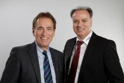 Jürgen Barthauer (links) und Anis Saad (rechts): Gemeinsame Erweiterung der Barthauer Software GmbH - Quelle: OpenPR