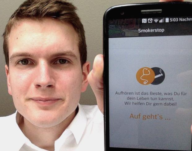 Photo of Medizinstudenten entwöhnen mit neuer Smokerstop-App
