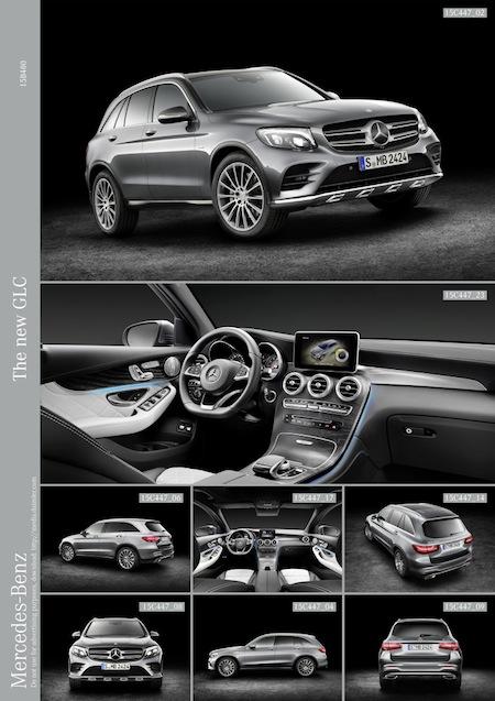 Bild von Weltpremiere Mercedes-Benz GLC – SUV im Maß-Anzug