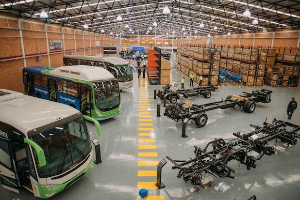 Photo of Daimler eröffnet Buswerk in Kolumbien und baut Busgeschäft in Lateinamerika aus