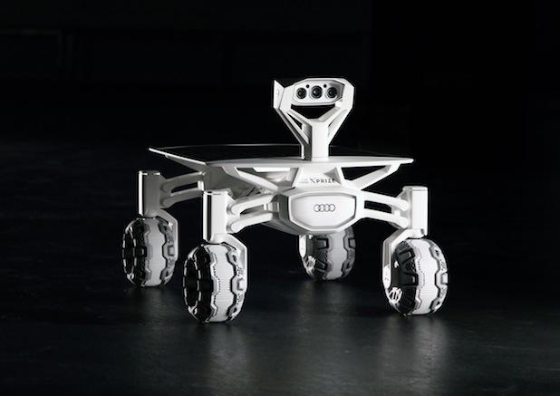 Bild von Mission Mondlandung: AUDI AG unterstützt deutsches Team bei Google Lunar XPRIZE