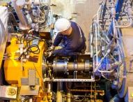 Erste magnetgelagerte Dampfturbine in Betrieb / TBK-Anlage erfolgreich im Probebetrieb