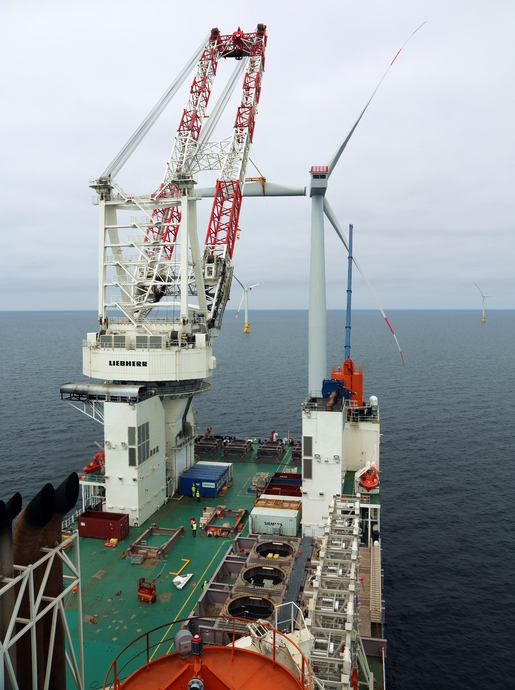 Photo of Offshore-Windpark EnBW Baltic 2 auf der Zielgeraden