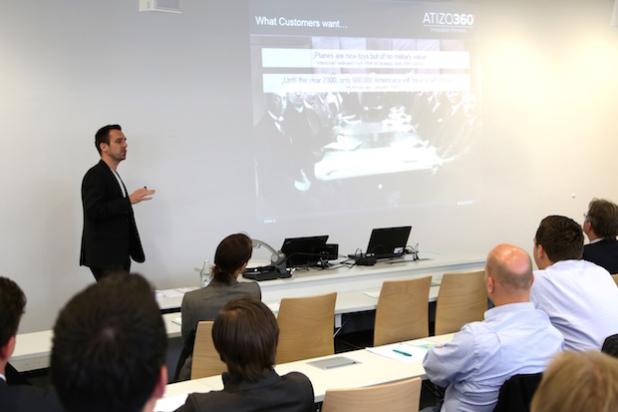 Adrian Gerber, Geschäftsführer und Partner von ATIZO 360° - Innovation Partners. - Quelle: echolot pr GmbH & Co. KG