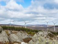 Vattenfall eröffnet Windpark Clashindarroch in Schottland