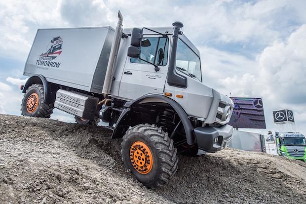 Photo of Rückblick: Mercedes-Benz beim Truck Grand Prix 2015 auf dem Nürburgring