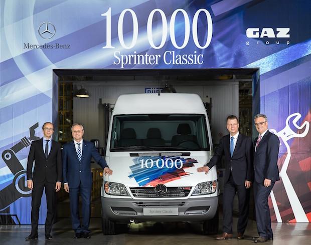 Photo of 10.000 Sprinter Classic in Nischni Nowgorod produziert