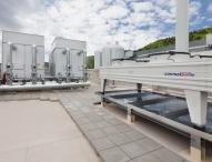 Neu installierte Anlage mit Kraft-Wärme-Kälte-Kopplung bei OSRAM