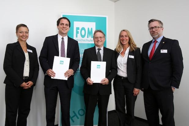 Bild von FOM Hochschule in Stuttgart beruft zwei neue Professoren für den Fachbereich Allgemeine Betriebswirtschaftslehre